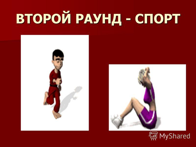 ВТОРОЙ РАУНД - СПОРТ