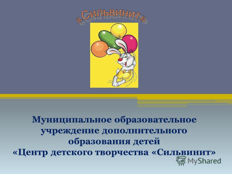 Муниципальное образовательное учреждение дополнительного образования детей «Центр детского творчества «Сильвинит»