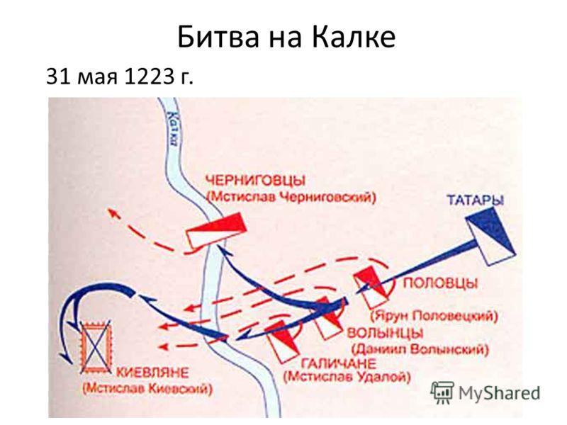 Битва на Калке 31 мая 1223 г.