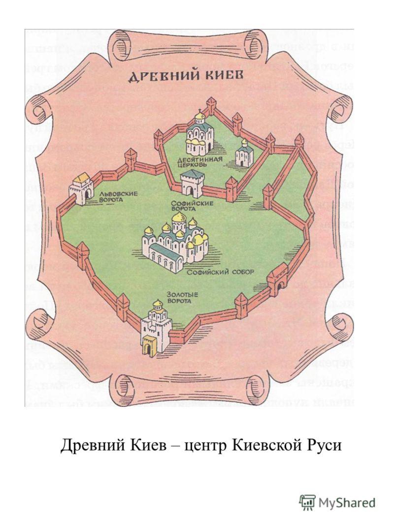 Древний Киев – центр Киевской Руси