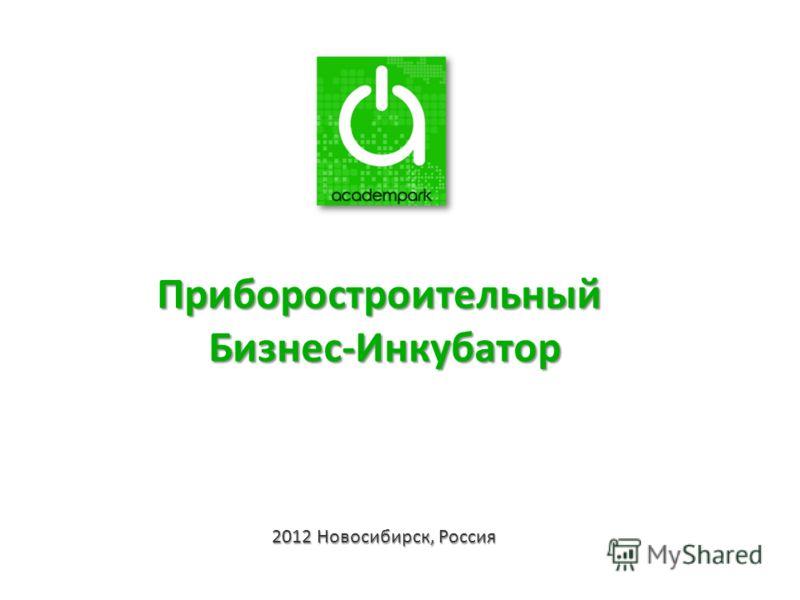 2012 Новосибирск, Россия ПриборостроительныйБизнес-Инкубатор