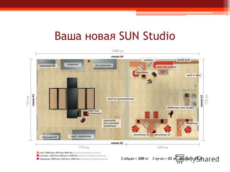 Ваша новая SUN Studio