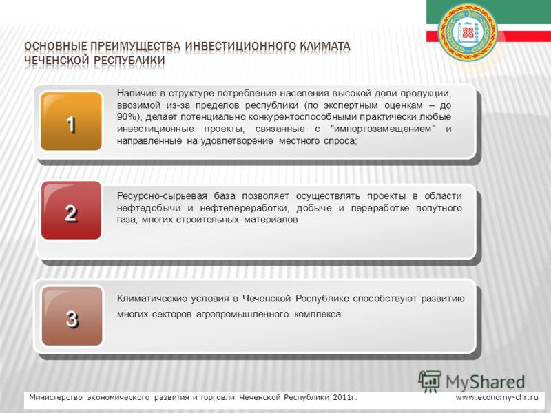 www.themegallery.com Company Logo 11 Наличие в структуре потребления населения высокой доли продукции, ввозимой из-за пределов республики (по экспертным оценкам – до 90%), делает потенциально конкурентоспособными практически любые инвестиционные прое