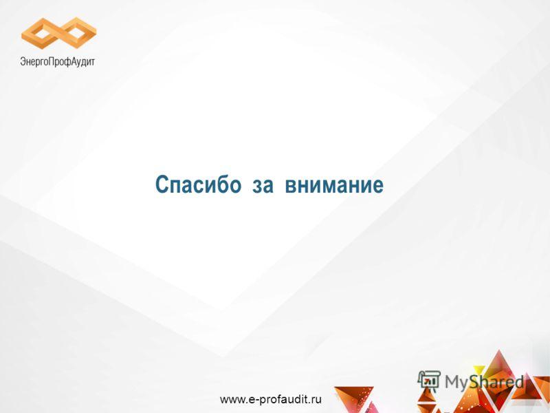 Спасибо за внимание www.e-profaudit.ru