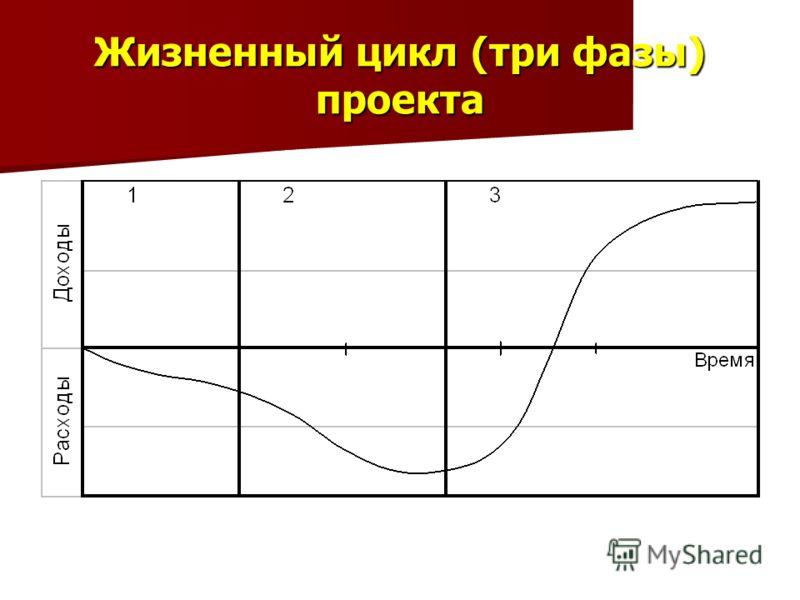 Жизненный цикл (три фазы) проекта