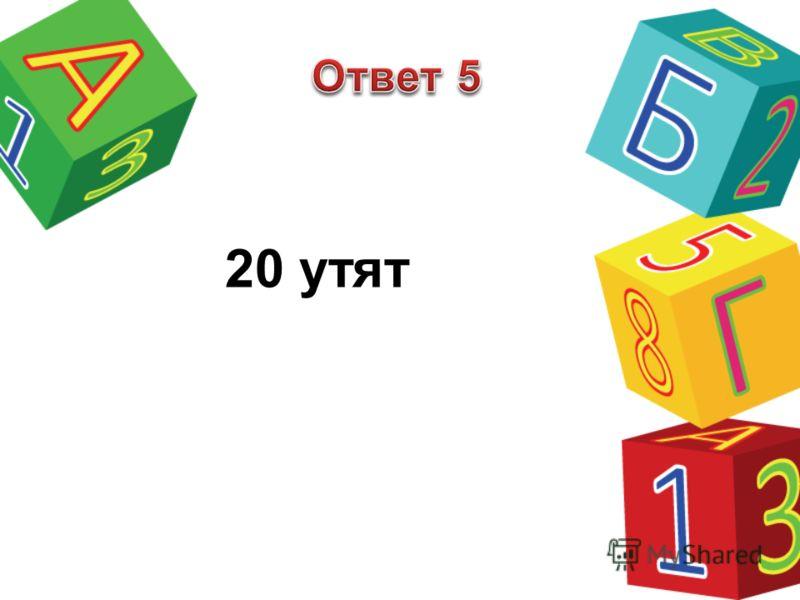 20 утят