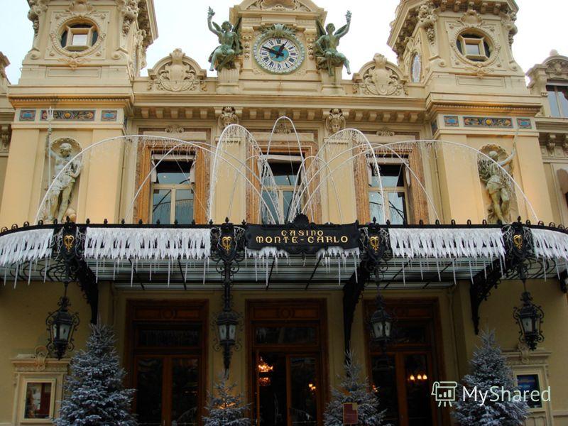 «МОНТЕ-КАРЛО» Казино «Монте-Карло» - сердце Монако. Монте-Карло, один из четырёх округов Монако, воистину являет собой сосредоточение помпезности, шика и богатства. Несомненно, центр района – казино