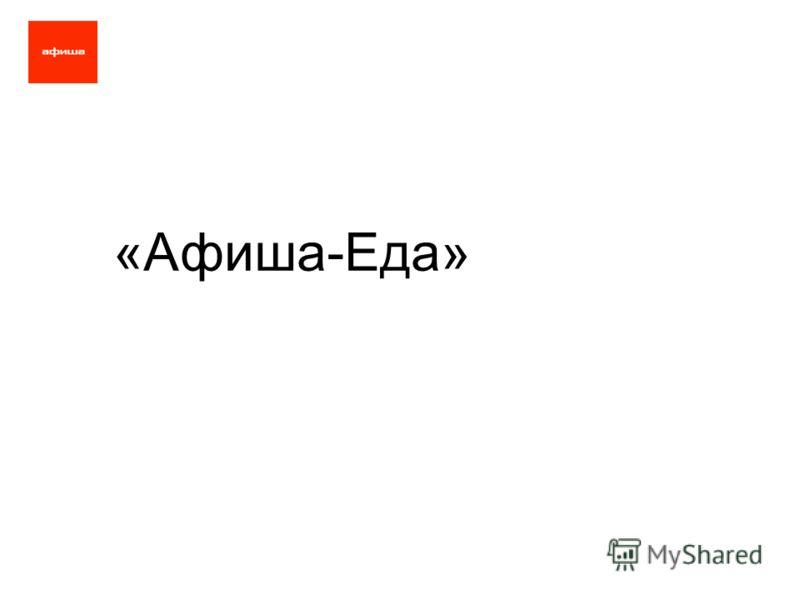 «Афиша-Еда»