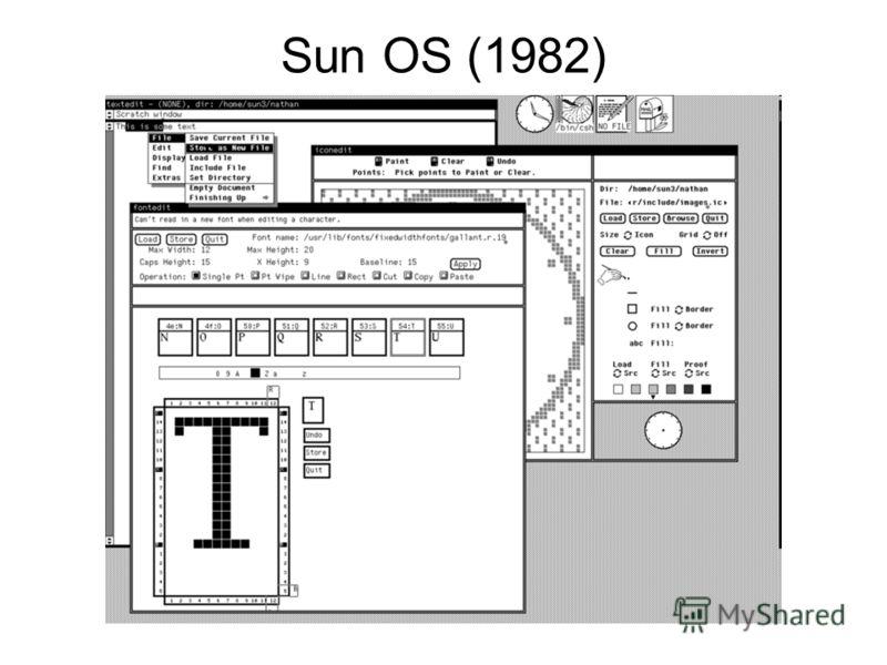 Sun OS (1982)
