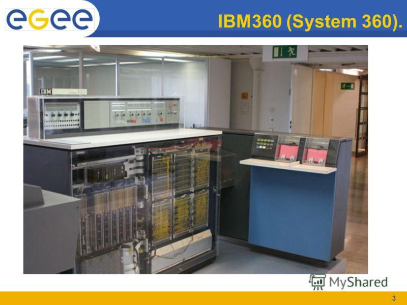 3 IBM360 (System 360).
