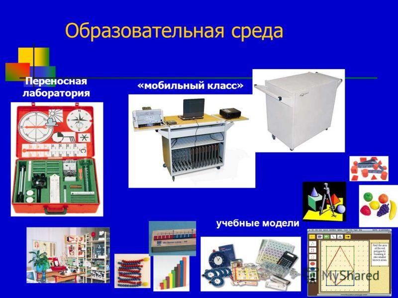 24 «мобильный класс» Переносная лаборатория учебные модели Образовательная среда