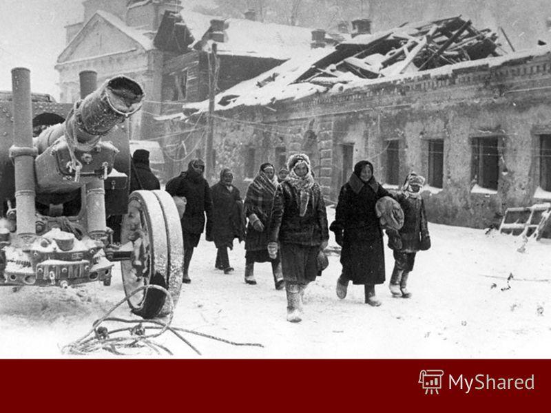 Тихвин. Зима 1943 года