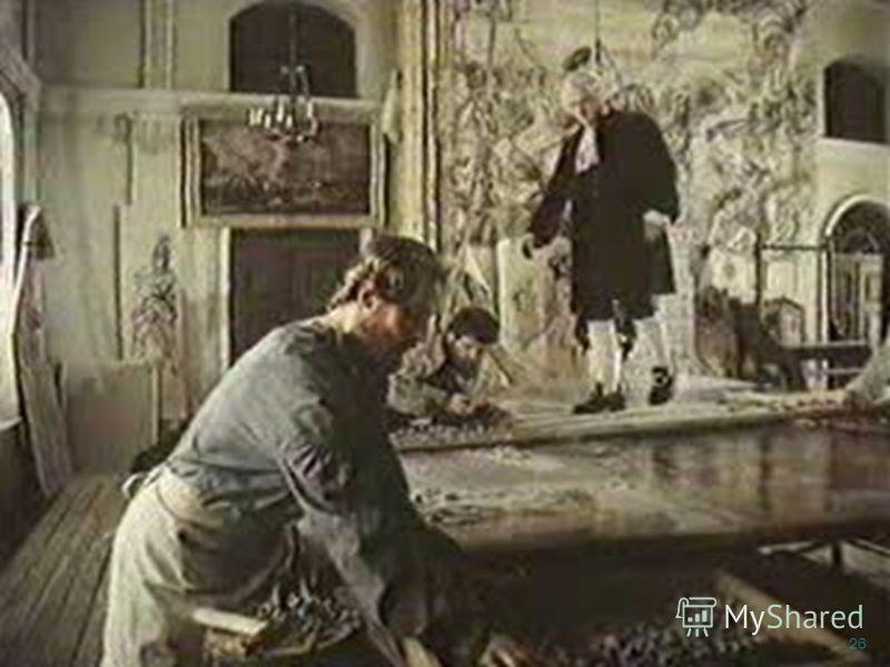 Открыл секрет изготовления смальты Изготовил 40 мозаичных картин Избран почетным членом Петербургской Академии художеств Пётр I. Мозаика. 25