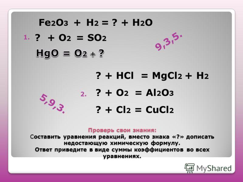 Презентация На Тему Химические Реакции 8 Класс