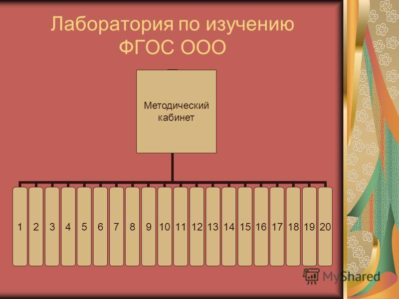 Лаборатория по изучению ФГОС ООО 1234567891011121314151617181920 Методический кабинет