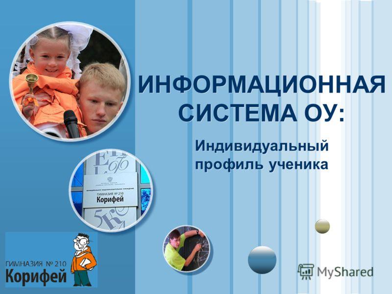 www.themegallery.com LOGO ИНФОРМАЦИОННАЯ СИСТЕМА ОУ: Индивидуальный профиль ученика