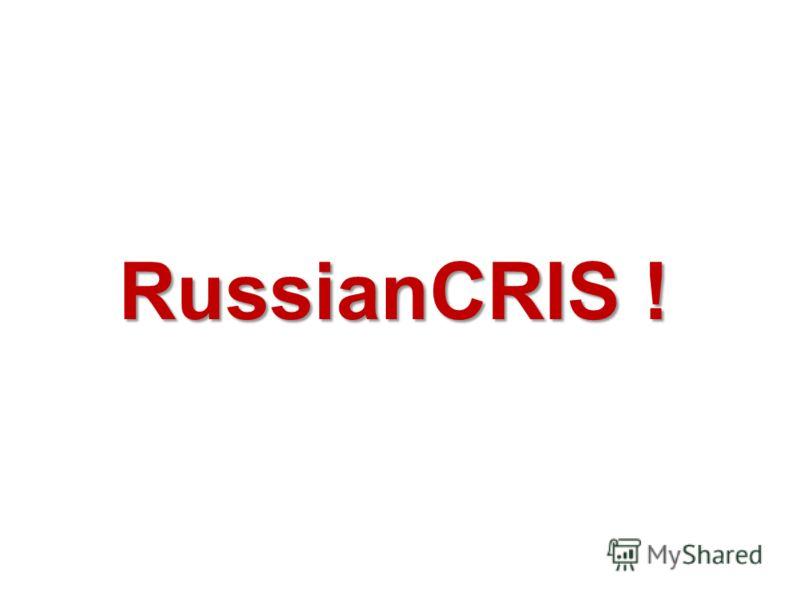 RussianCRIS !