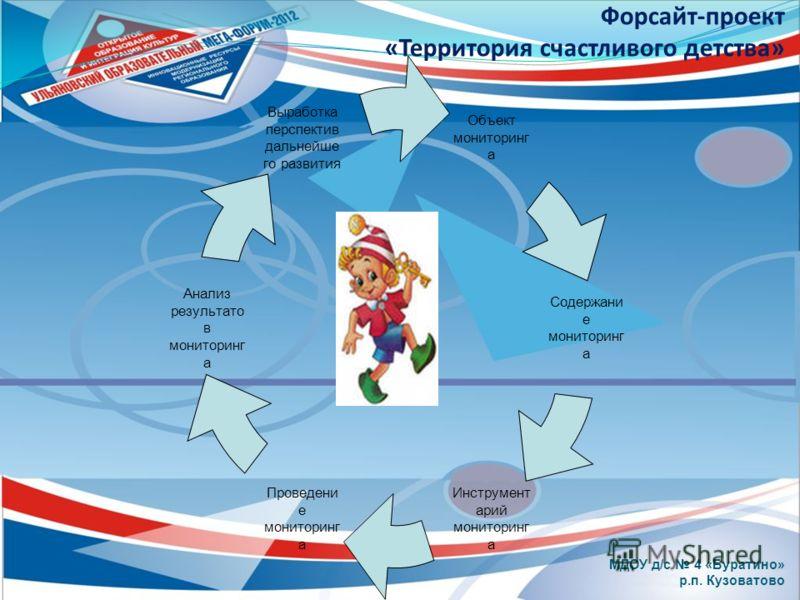 МДОУ д/с 4 «Буратино» р.п. Кузоватово