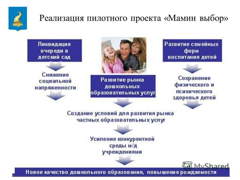 9 Реализация пилотного проекта «Мамин выбор»