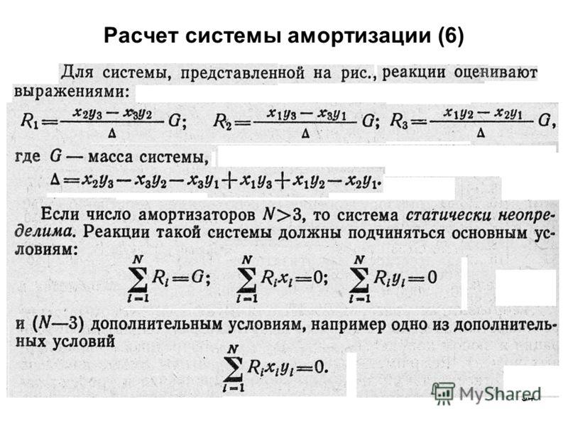 54 Расчет системы амортизации (6)