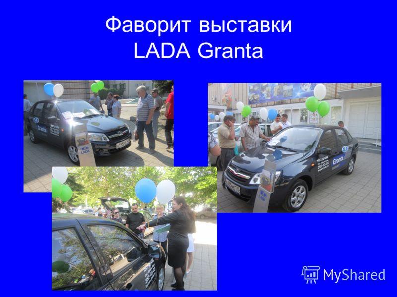 Фаворит выставки LADA Granta