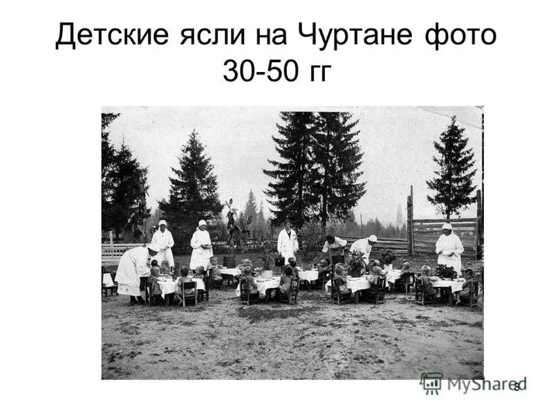 8 Детские ясли на Чуртане фото 30-50 гг