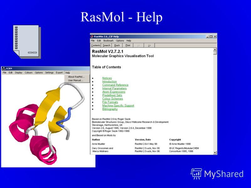 RasMol - Help