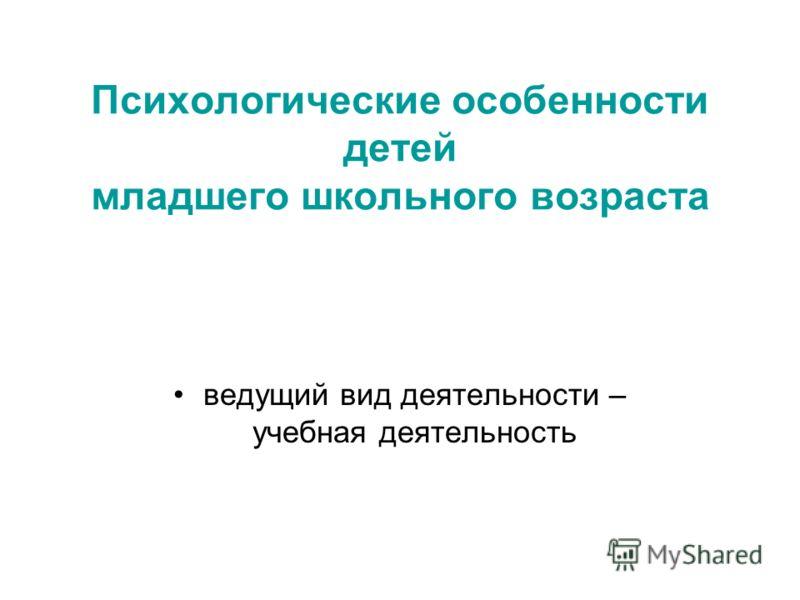 Учебная деятельность презентация