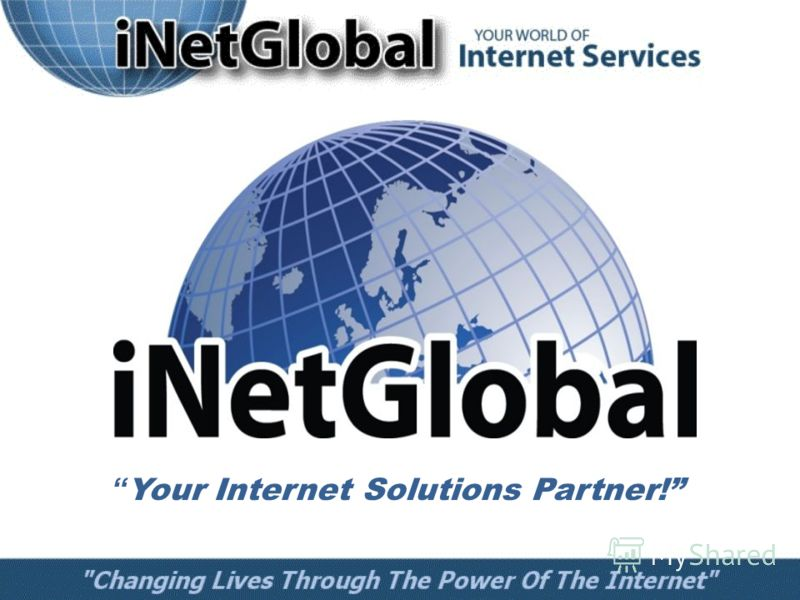 Your Internet Solutions Partner!