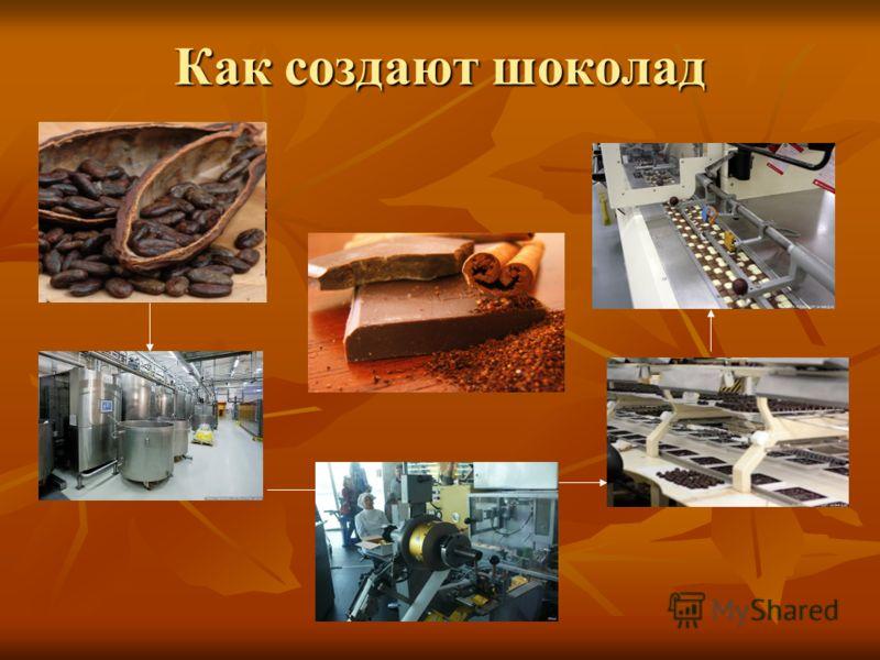 Как создают шоколад
