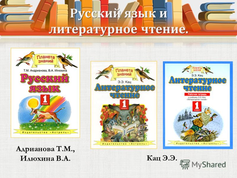 Русский язык и литературное чтение. Кац Э.Э. Адрианова Т.М., Илюхина В.А.