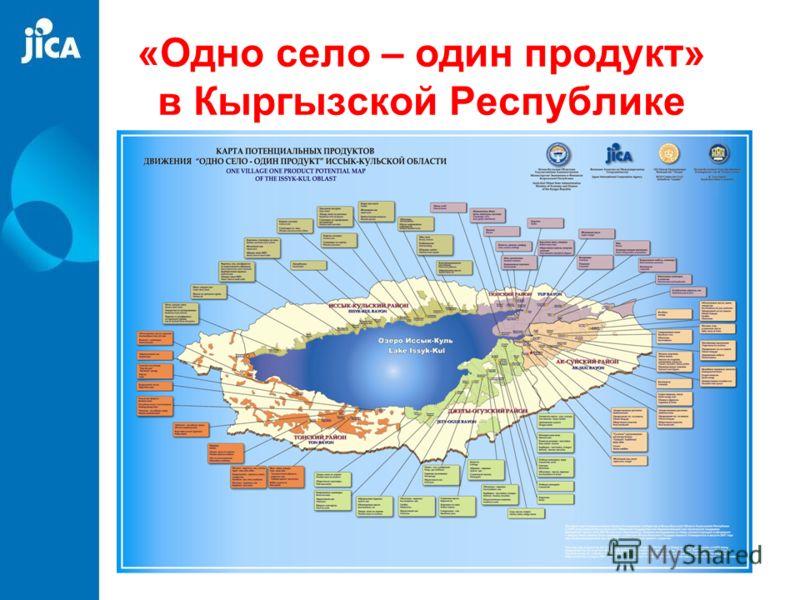 «Одно село – один продукт» в Кыргызской Республике