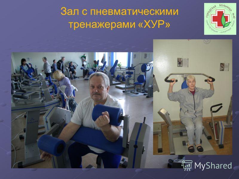 Зал с пневматическими тренажерами «ХУР»