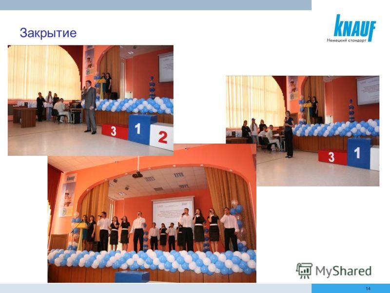 14 Закрытие конкурса