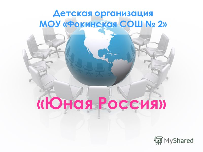 Детская организация МОУ «Фокинская СОШ 2» «Юная Россия»