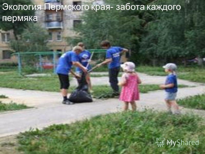 Экология Пермского края- забота каждого пермяка
