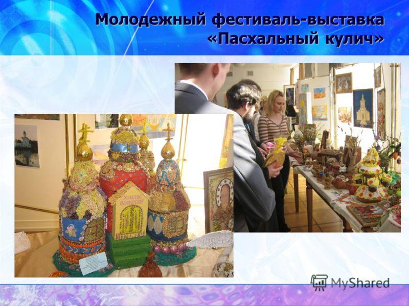 Молодежный фестиваль-выставка «Пасхальный кулич»