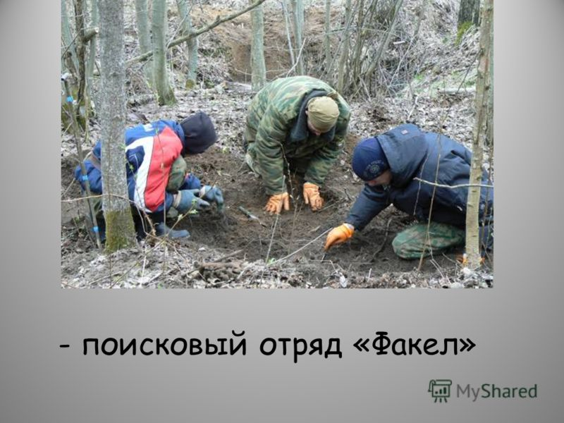 - поисковый отряд «Факел»