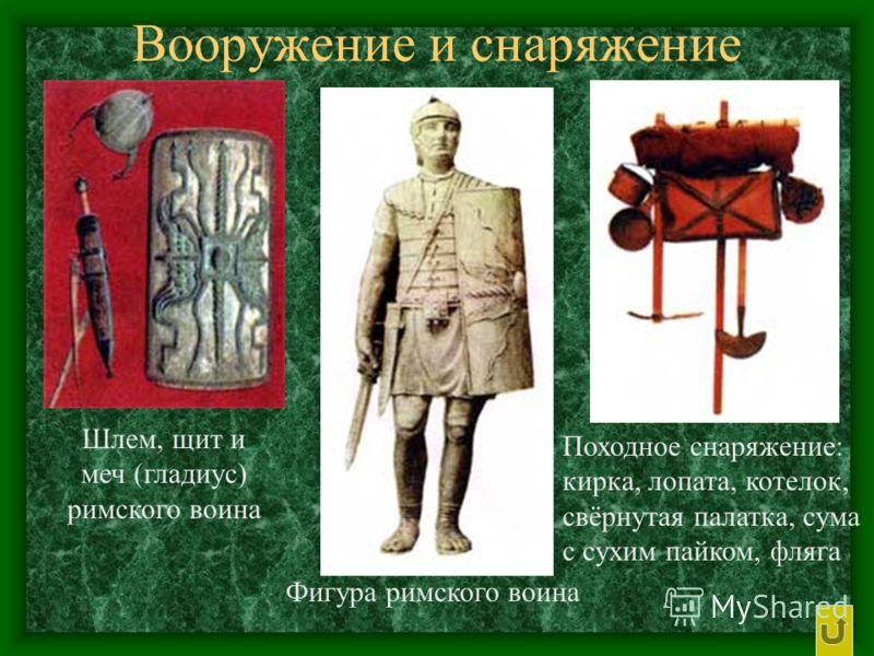 Структура римского войска V-II веков до н.э.