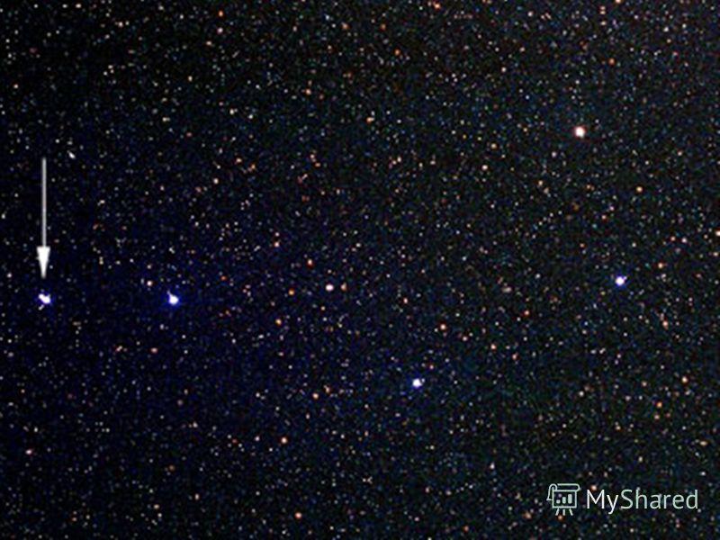 Фотография звёздного неба.