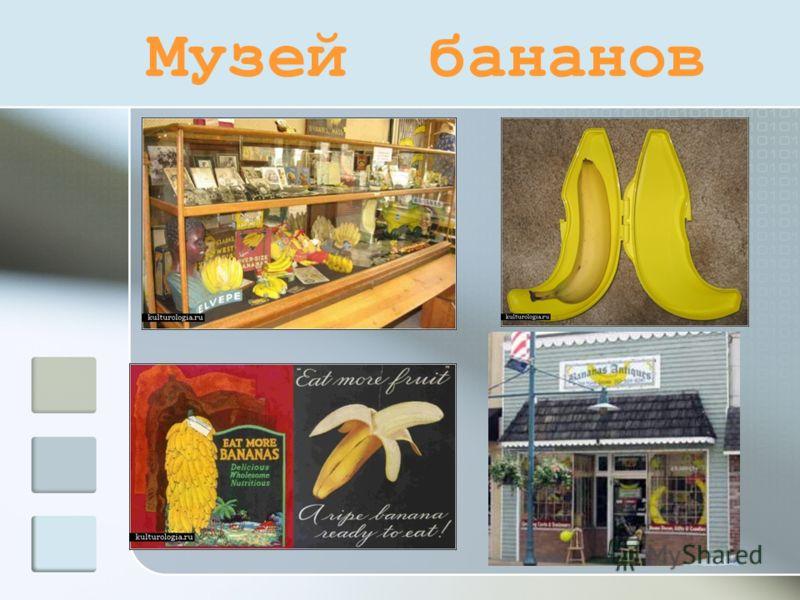 Музей бананов