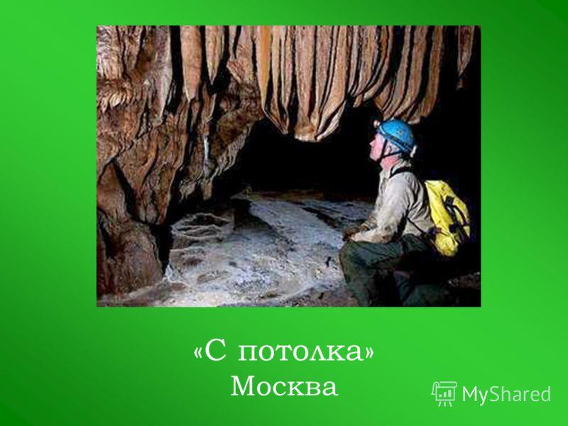 «С потолка» Москва