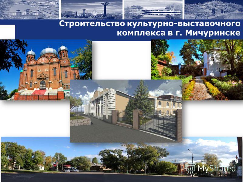 Строительство культурно-выставочного комплекса в г. Мичуринске