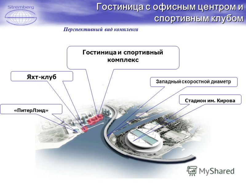 скоростной диаметр Стадион