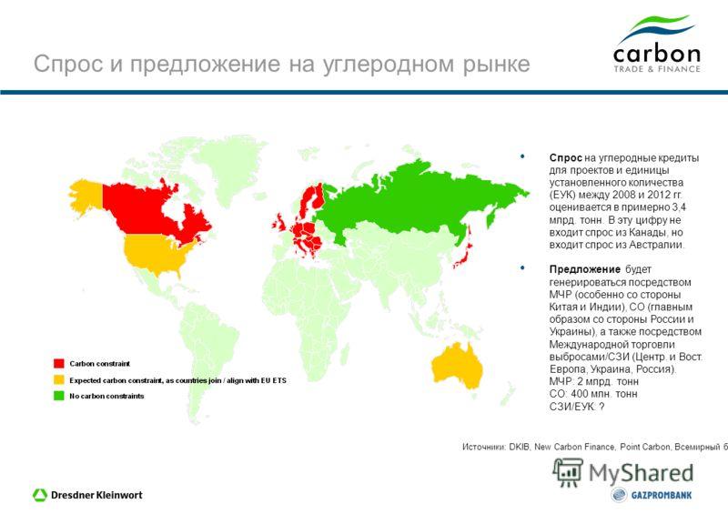 Carbon Trade & Finance Компания Carbon Trade & Finance является совместным предприятием, созданным «Газпромбанком» и Дрезднер Банком для использования возможностей на рынке углеродных выбросов. Совместное предприятие базируется в Люксембурге и инвест