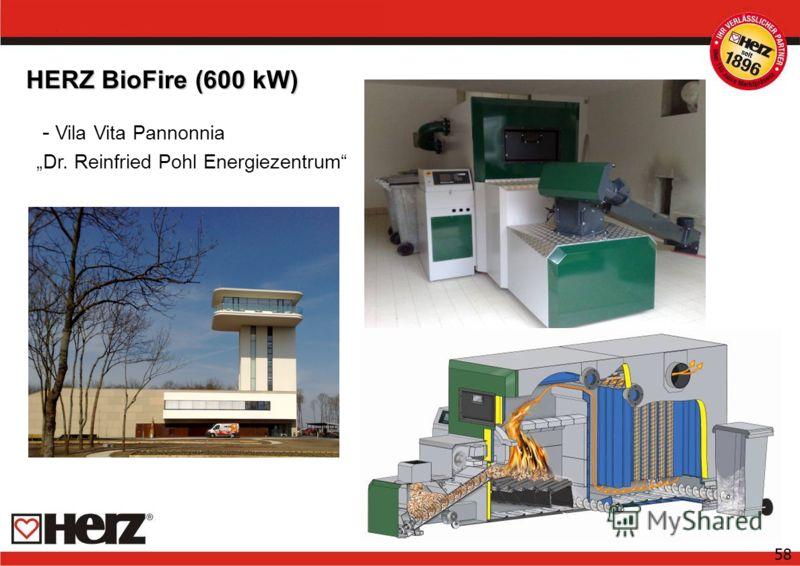 58 HERZ BioFire (600 kW) - Vila Vita Pannonnia Dr. Reinfried Pohl Energiezentrum