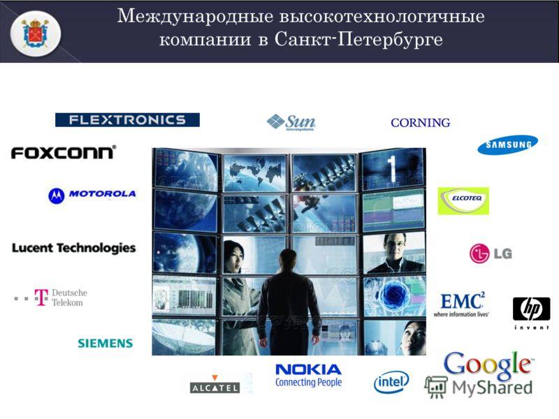 Международные высокотехнологичные компании в Санкт-Петербурге