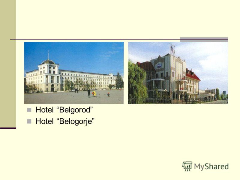 Hotel Belgorod Hotel Belogorje