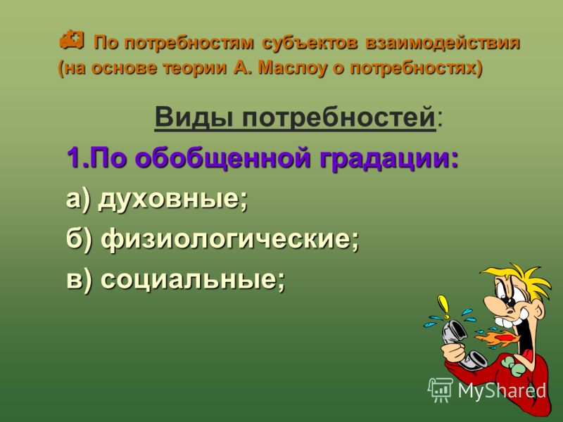 Г.Б. Вершинина20 Конфликты ( по А.Я. Анцупову) Внутриличностные Между: «хочу» и «хочу»; «хочу» и «не могу»; «хочу и «нужно»; «могу» и «не могу» «нужно» и «не нужно» «нужно» и «не могу»