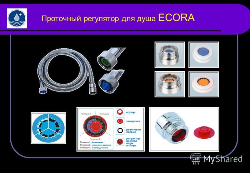 Проточный регулятор для душа ECORA